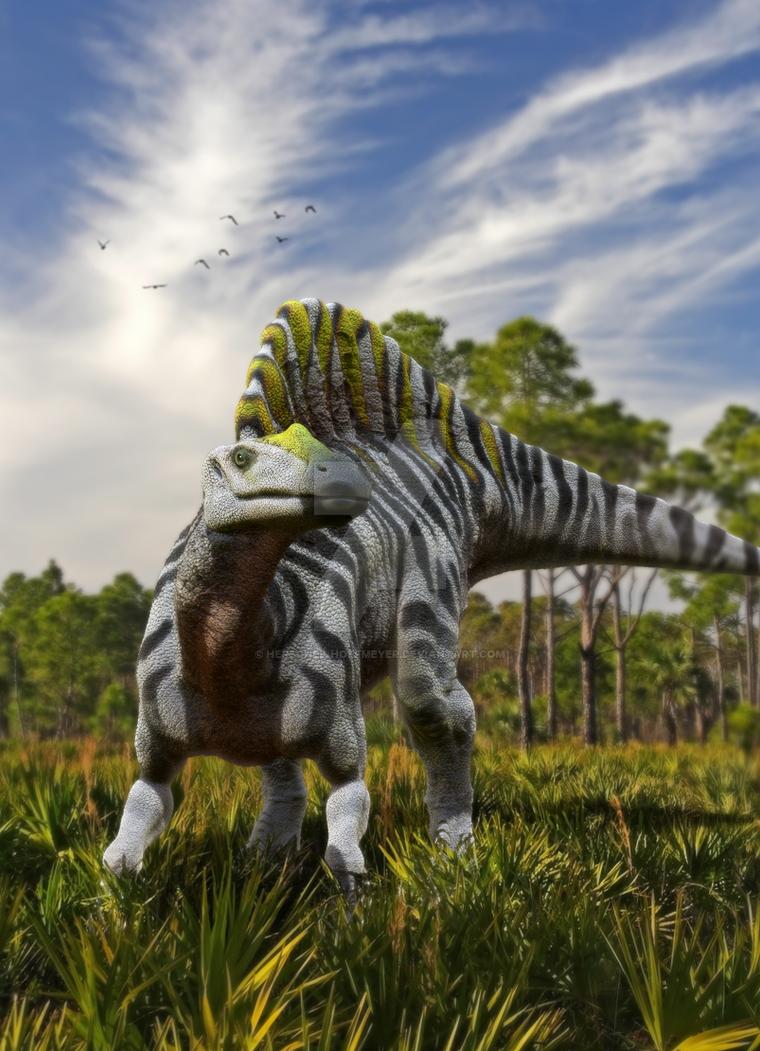 Apex: Prey - Ouranosaurus by Herschel-Hoffmeyer on DeviantArt
