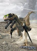 Promethean Wars - Reaper Unit by Herschel-Hoffmeyer