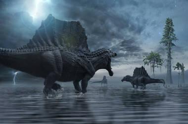 Spinosaurus Hunting Party