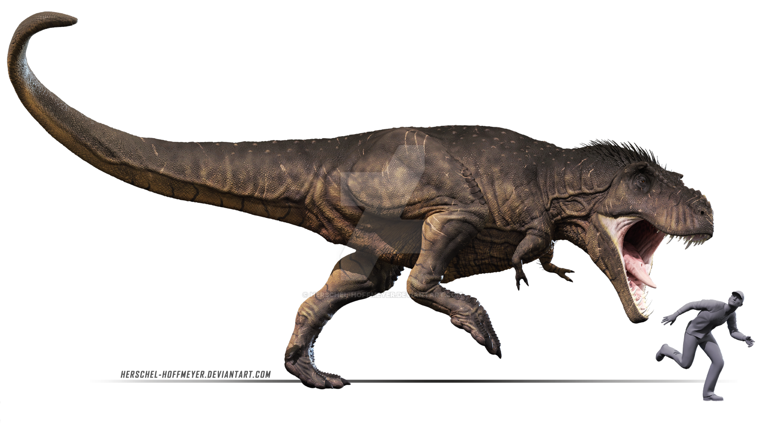 Tyrannosaurus rex by herschel hoffmeyer on deviantart for Tyranosaurus rex