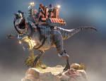 Carnotaurus Warpath Armor - Turntable 01