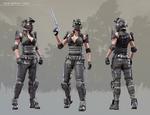 Tactical Assault Commando - Sarah