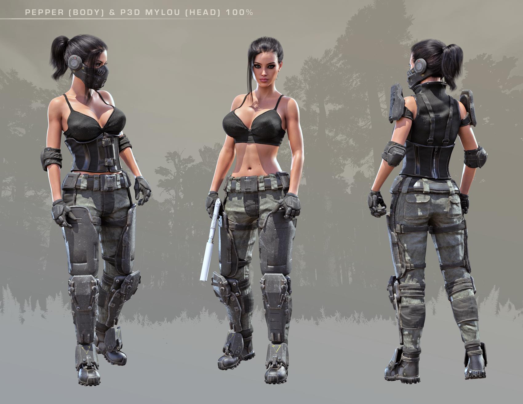 Tactical Assault Commando - Pepper