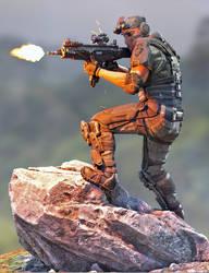 Tactical Assault Commando - Ronen 3 by Herschel-Hoffmeyer