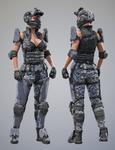 Tactical Assault Commando - Texture Set 2