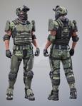 Tactical Assault Commando - Texture Set 1
