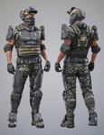 Tactical Assault Commando - Texture Set 3