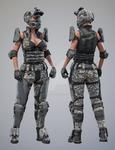 Tactical Assault Commando - Texture Set 4