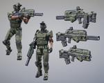 Tactical Assault Rifle WIP (.30-06 bullpup)