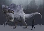Spinosaurus Isolated
