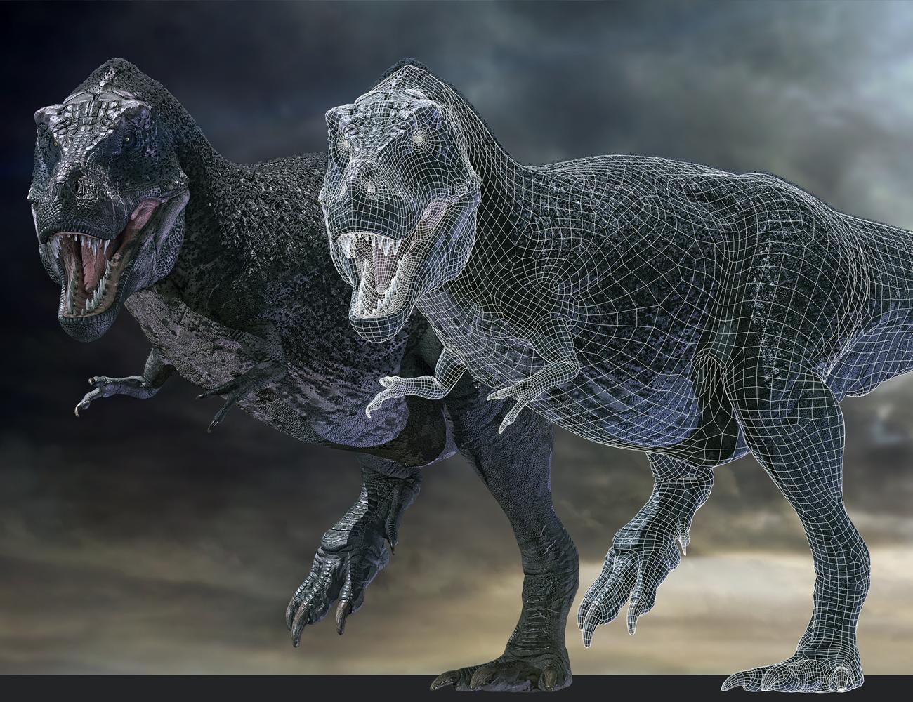 Tyrannosaurus Rex 3 for Daz3D