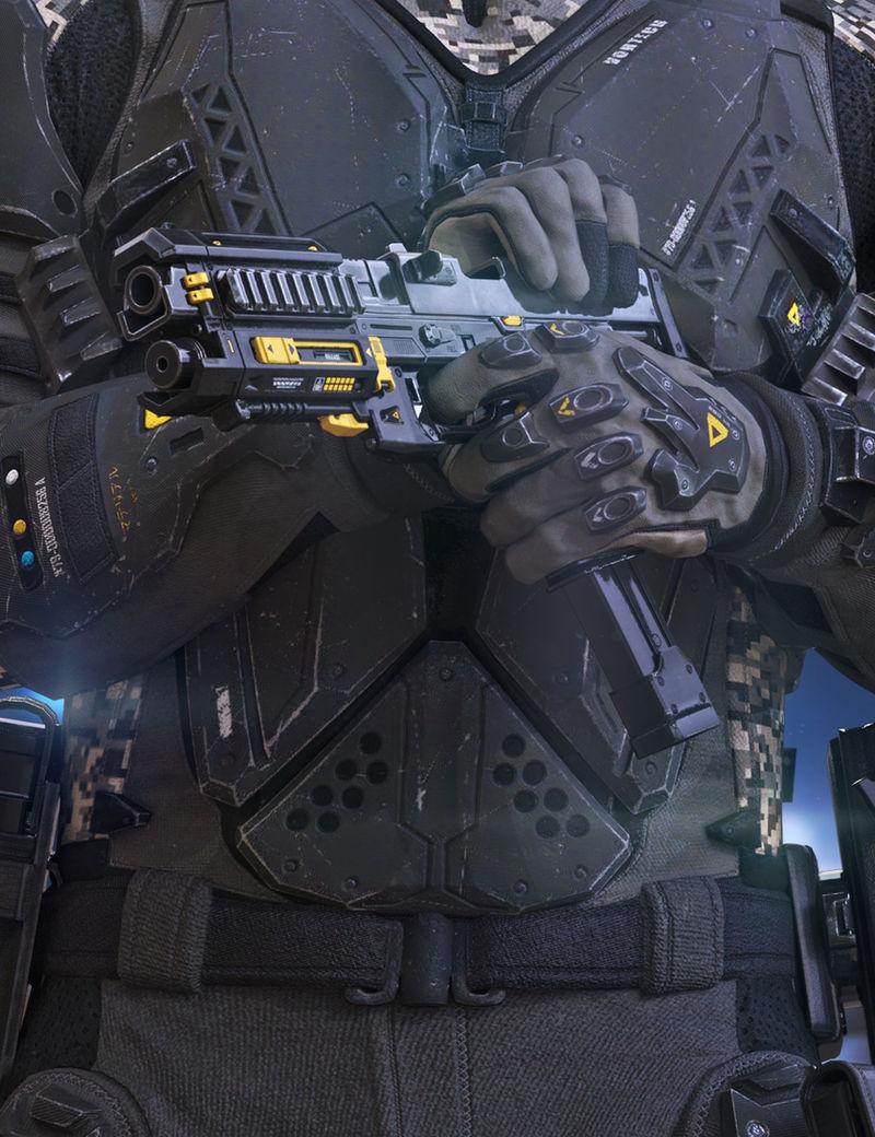 Harbinger Machine Pistol
