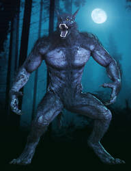 Werewolf for Daz3D