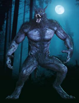 Werewolf for Daz3D