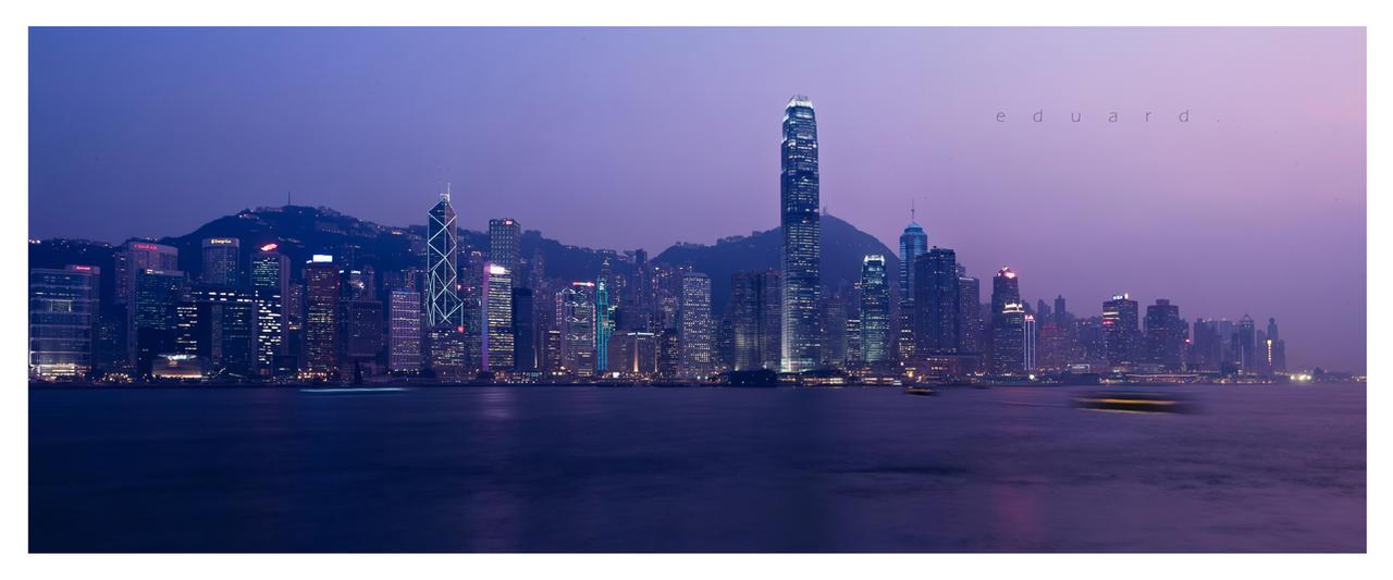 Hongkong Dusk