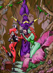 Batgirl, Poison Ivy, and Harley by Marvelmania
