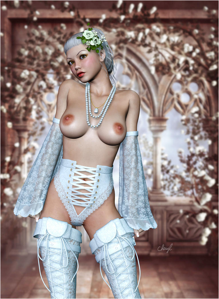 The Bride Wore White by SubVirgin