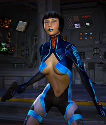 Special Agent Blue