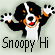 snoopy happy Hi 50  by WhoopySnoopy