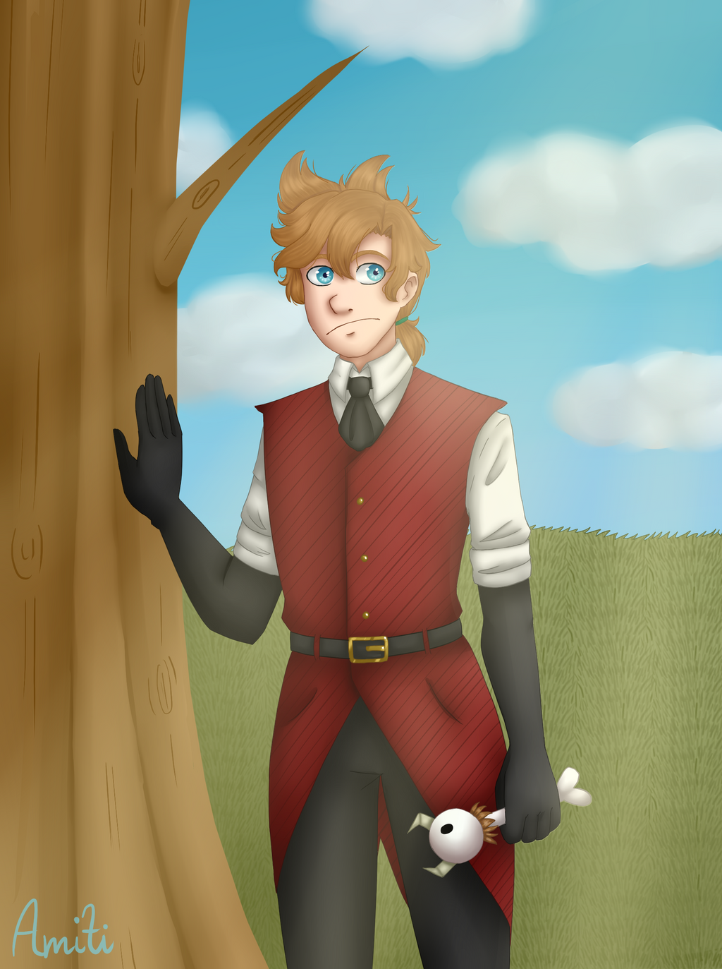 Don't starve Tord by AmitiArt