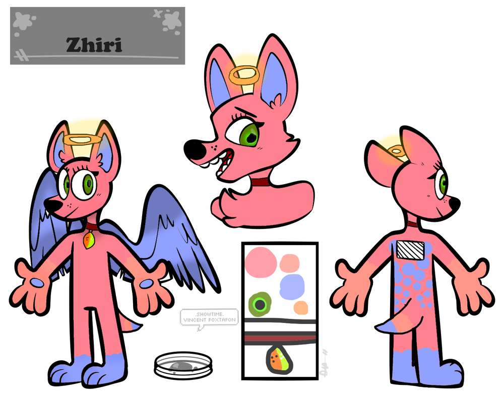 Zhiri Reference sheet ( Base used ) by MaraAnimations