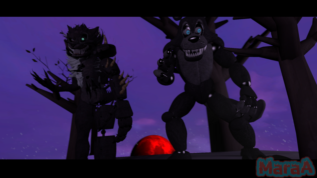 [SFM/FNAF]  The Eclipse of the Wolf by MaraAnimations