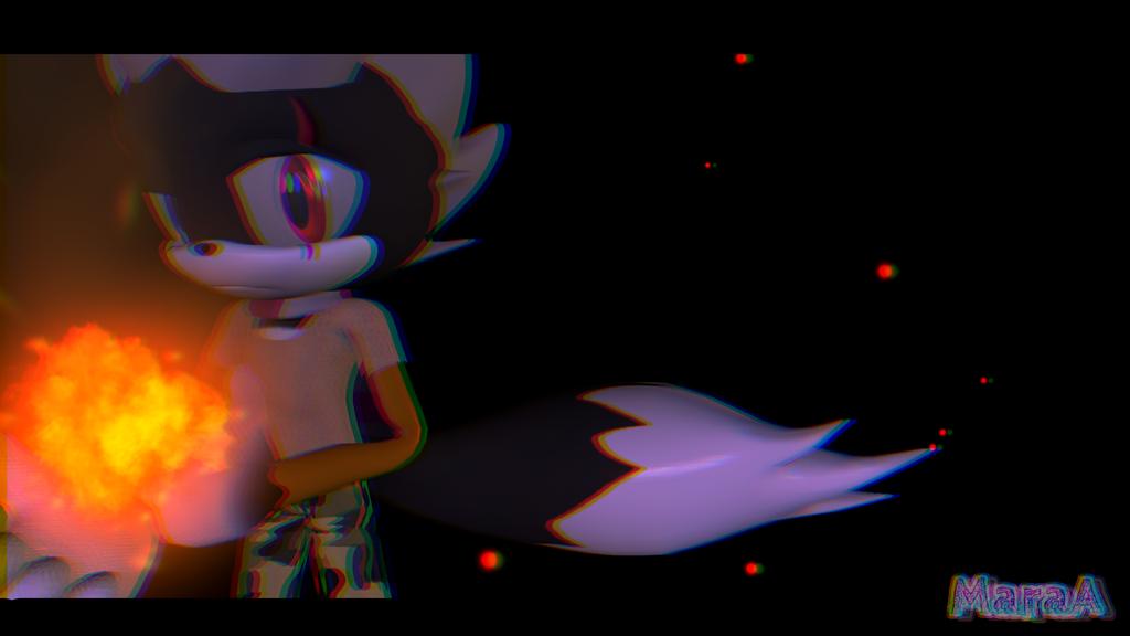 [SFM/Sonic/OC/Gift] Blade The Echifox by MaraAnimations