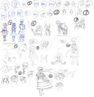 Alice: Madness Returns - Sketchdump1 by X-I-L2048