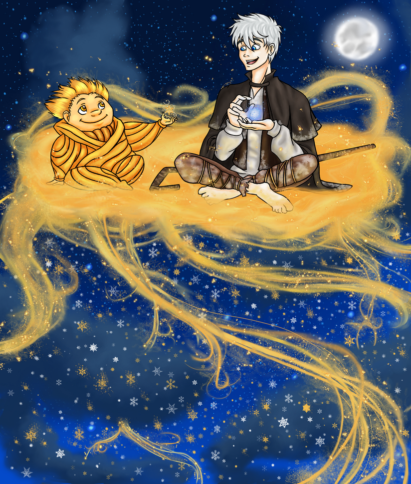 RotG: Golden Snowflakes by X-I-L2048