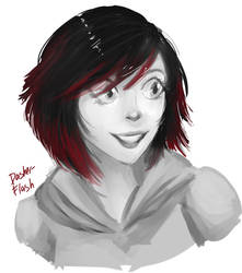 painting resketch with Ruby