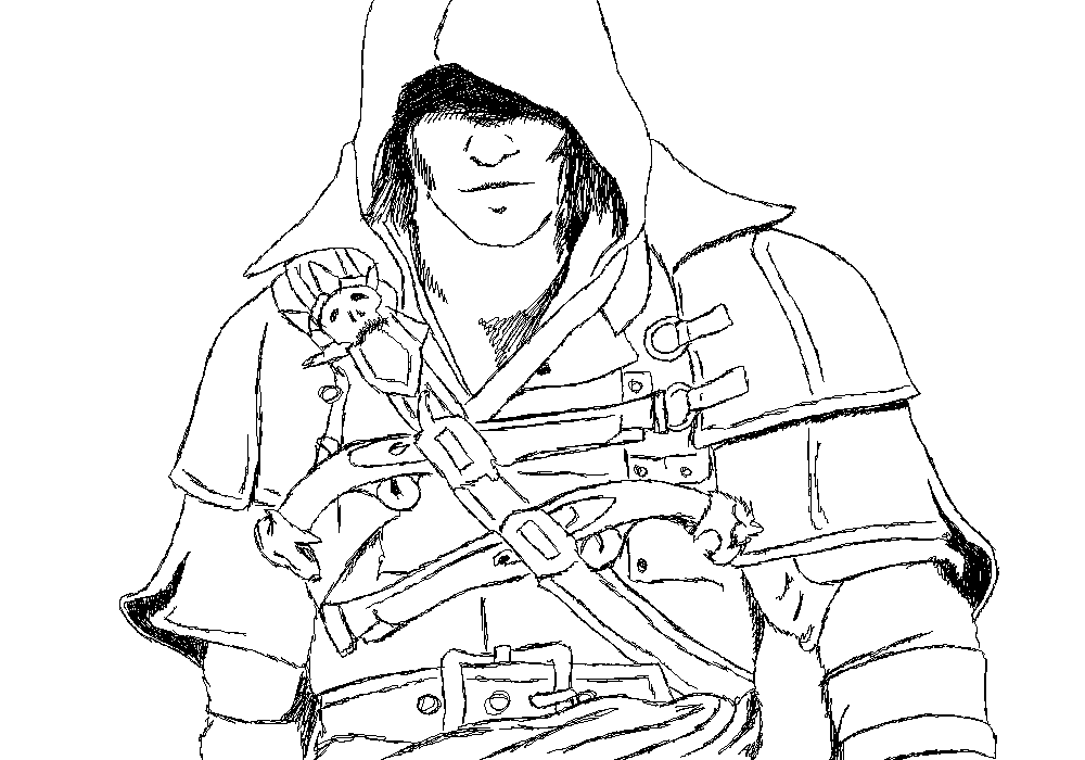 Pictures Of Assassins Creed Black Flag Edward Kenway Drawing