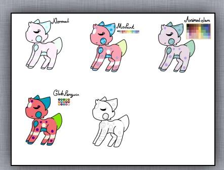 Colour Pallete Meme (It happened again) by CheakyCreature