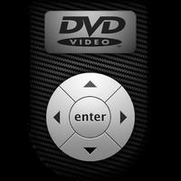 DVD Player Icon - Carbon Fiber by LRSCREW