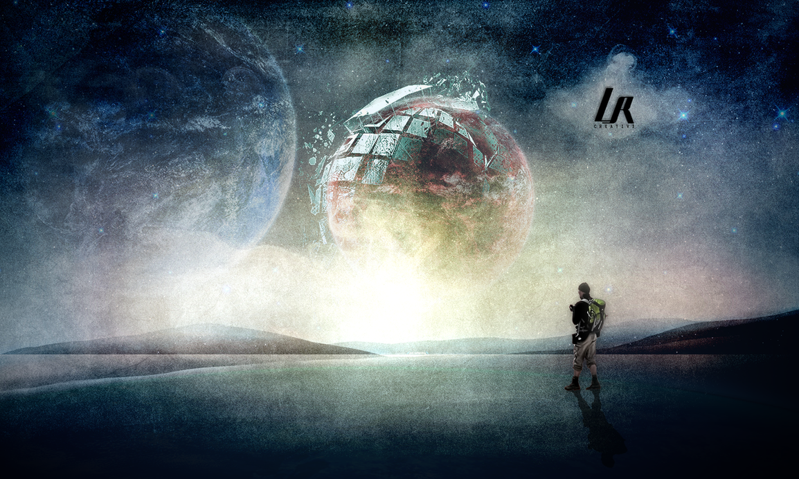 Imagine Space Wallpaper By LRSCREW