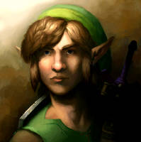 The Youth Hero: Link by unsilentwill