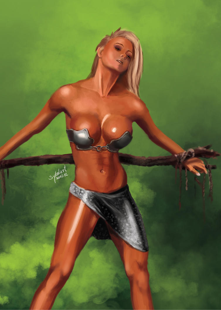 Fantasy warrior slave girl porn sexual picture