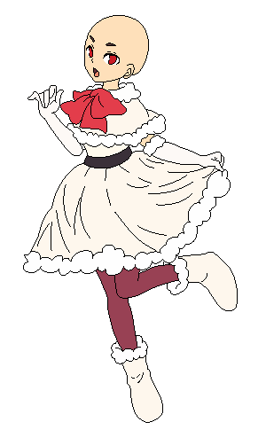 Christmas Dress :: Base by ReddPixels on DeviantArt