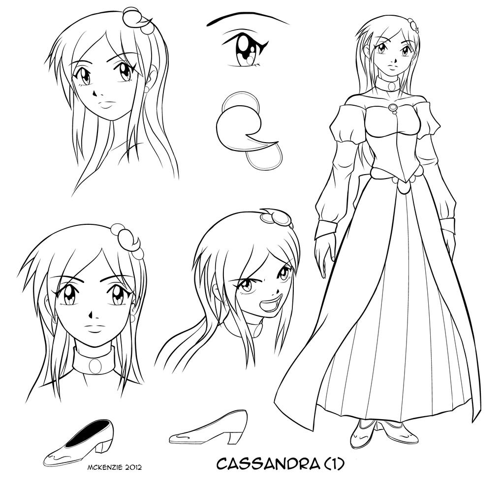 Cassandra design #1 by RedShoulder