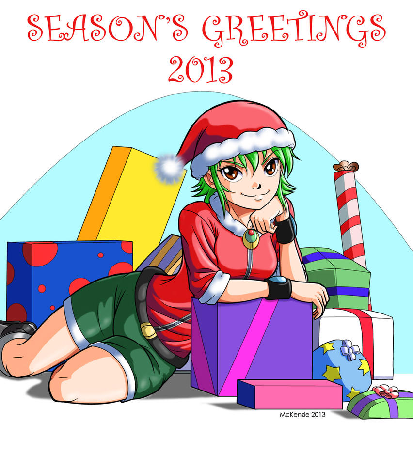 Season's Greetings 2013 by RedShoulder