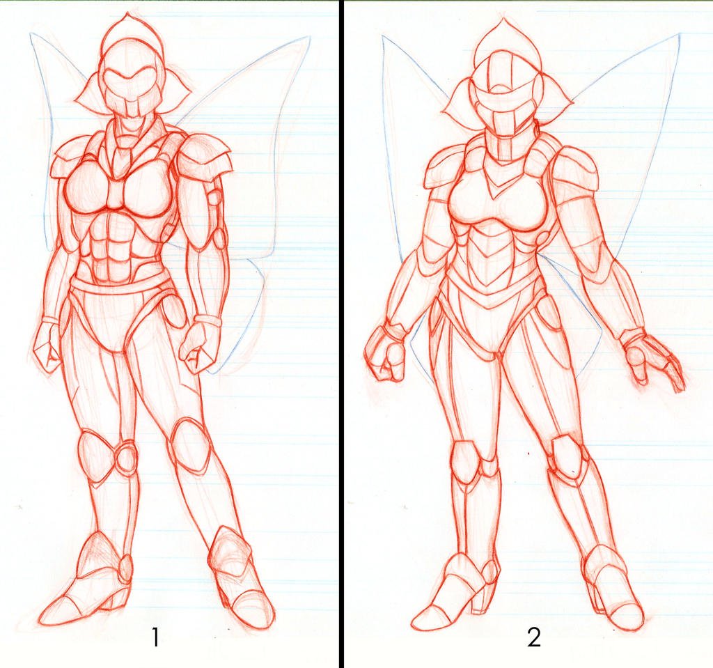 Battlesuit ideas by RedShoulder