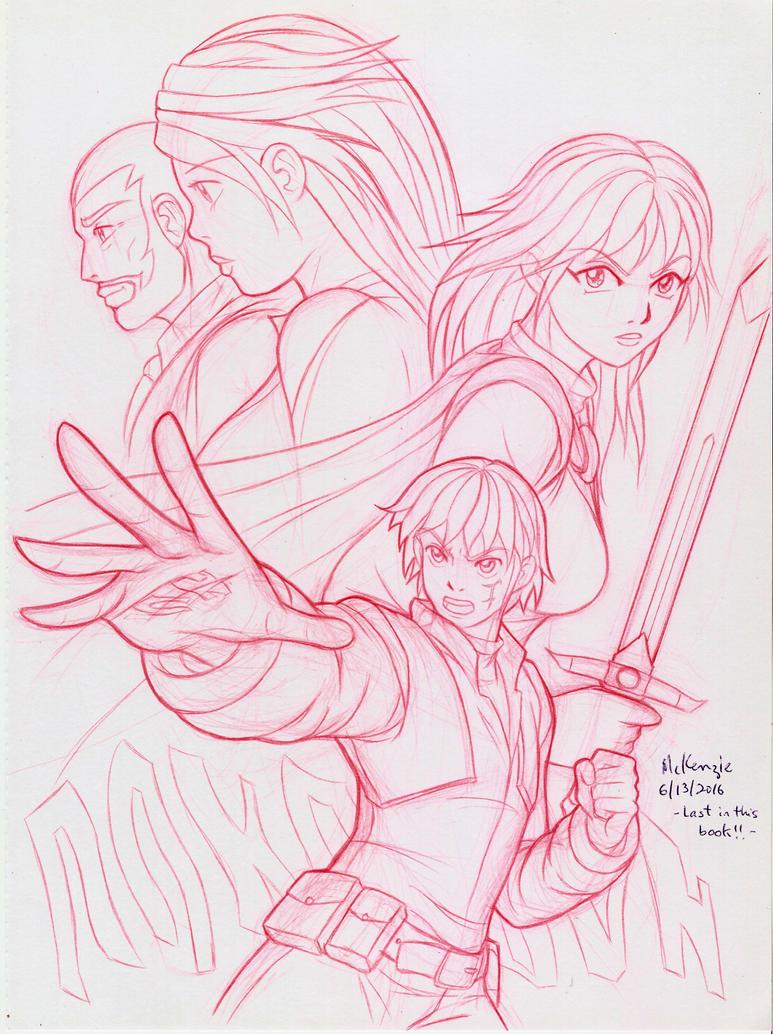 Wizard and Warrior by RedShoulder