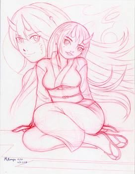 Oni Ladies Drawing