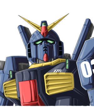 RX-178 Gundam Mk-II (Titans colors)