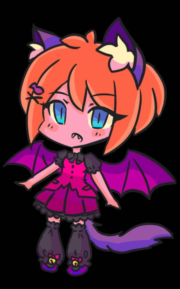 Bat Kitty  by SolangeGag