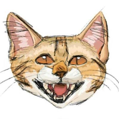 Cat by SolangeGag