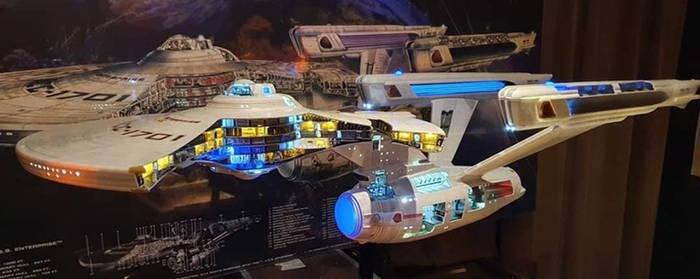 Enterprise Cutaway
