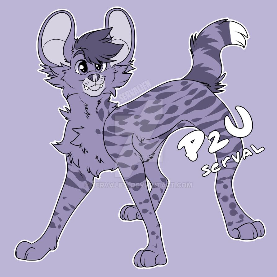[P2U Base] Serval by servalien