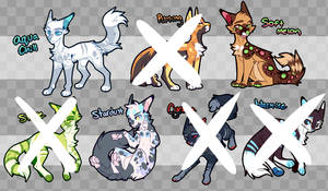 CAT ADOPTS (3/7 open) by servalien