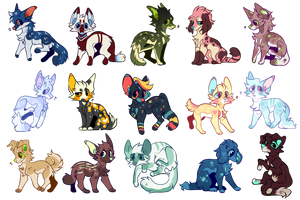 $5/500 point Adopts by servalien