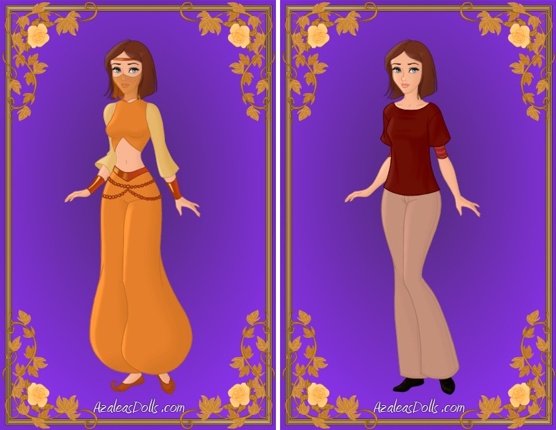 Alessia - After and Before her Lamp